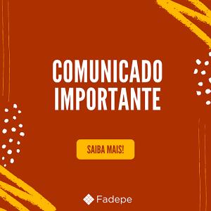 Comunicado Importante da FADEPE sobre o COVID-19